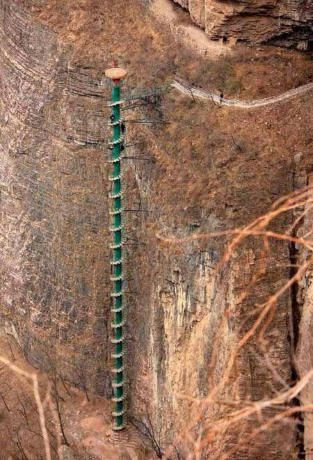 نمونه ای جالب راه پله