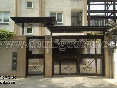 درب و سردرب ساختمان - 1220-B