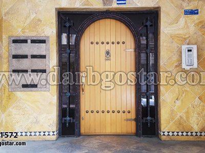 درب ورودی ساختمان-کد درب 1572