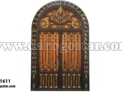 درب شیک درب ساختمان- کد درب 1611