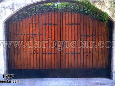 درب تلفیقی درب گستر کد درب 1797