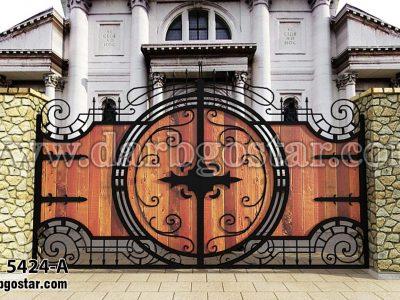درب خاص (درب گستر) درب زیبا 5424-A