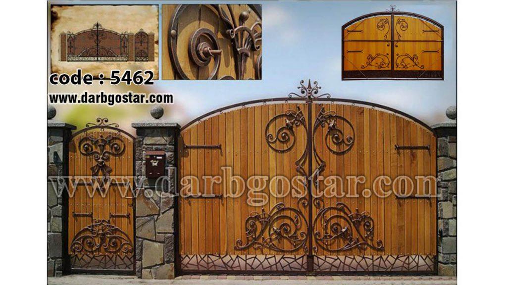 درب های مدرن درب گستر- کد 5462