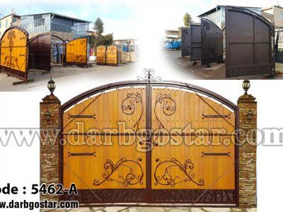 درب های تلفیقی درب گستر - کد 5462-A