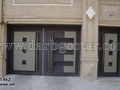 درب های مدرن ساختمان-کد درب 1462