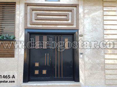 1465-A درب ورودی درب مدرن