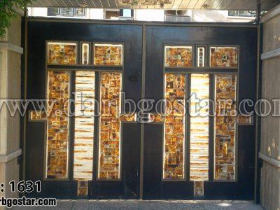 درب شیک درب ساختمان کد درب 1631
