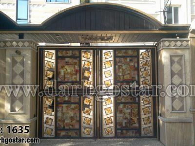 درب شیک درب ساختمان کد 1635