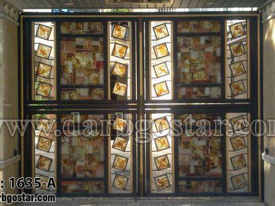 1635-A درب شیک درب ساختمان