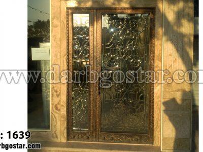 درب شیک درب ورودی ساختمان کد درب 1639