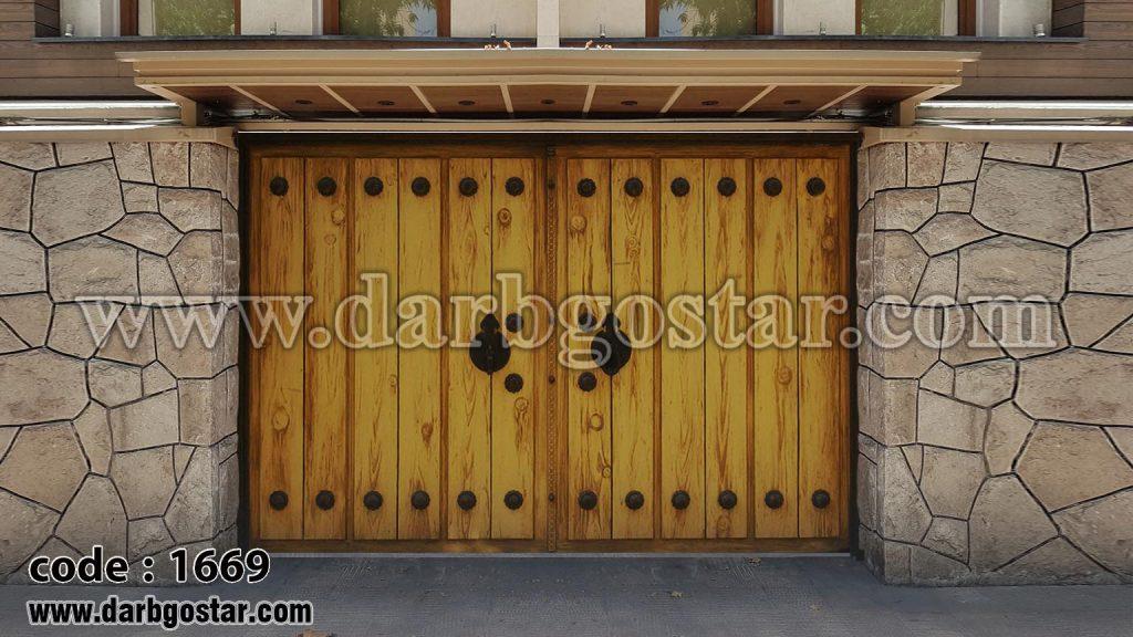 درب و سردرب ساختمان کد 1669