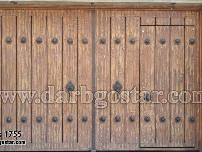 درب پارکینگ توامان کد درب 1755