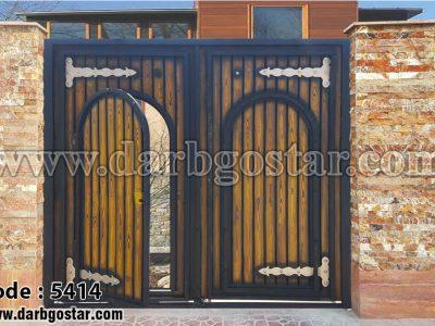 درب توامان درب گستر- کد درب 5414