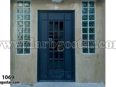 درب عابررو ساختمان درب کد 1069