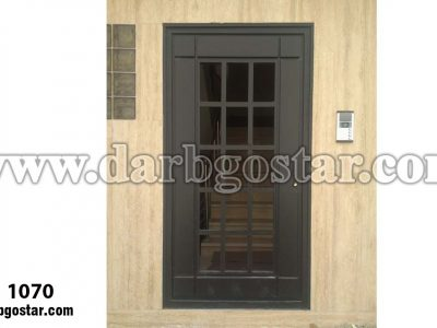 درب ورودی ساختمان درب کد 1070