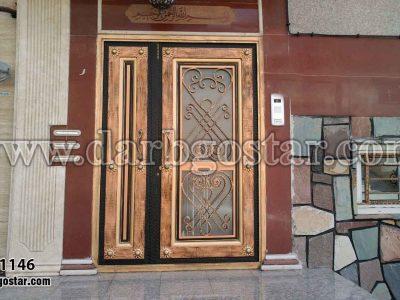 درب ورودی دو لنگه کد درب 1146