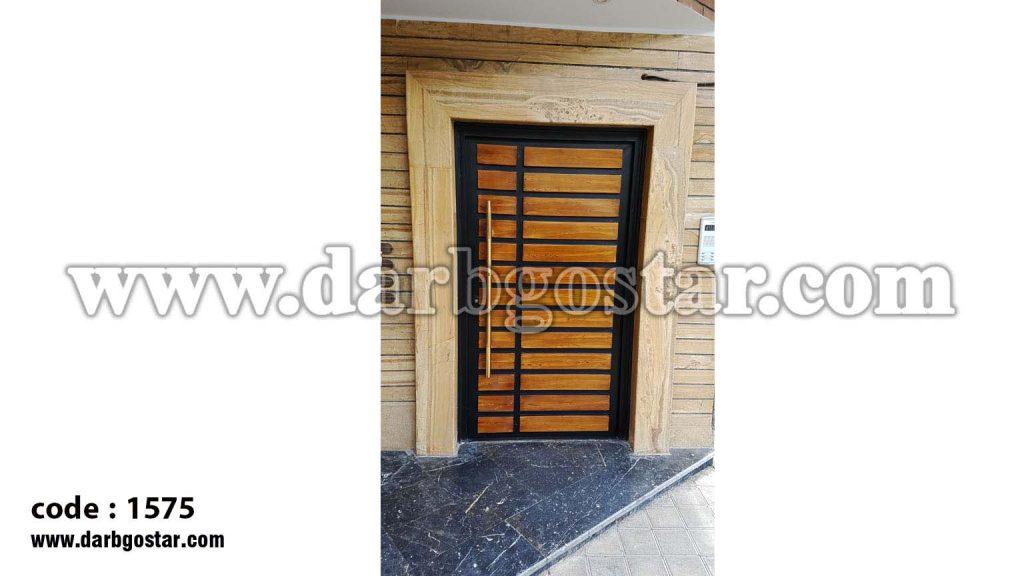 درب ورودی ساختمان درب کد 1575