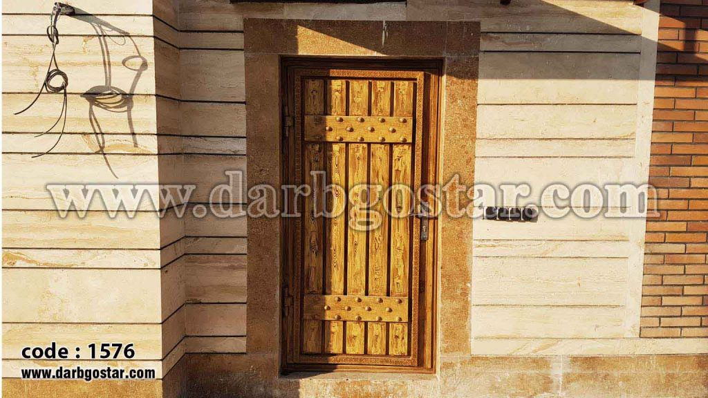درب ورودی ساختمان کد درب 1576