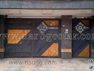 درب تلفیقی درب گستر درب کد 1693