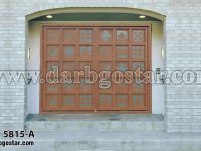 5815-A درب طرح چوب