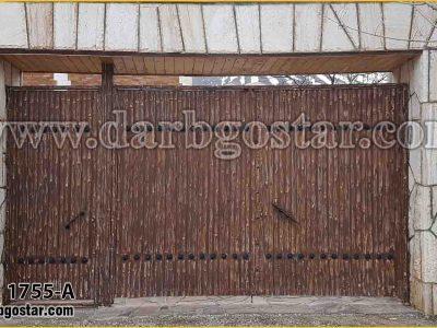 1755-A درب کهنه کاری شده