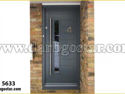 درب فلزی درب ورودی ساختمان کد درب 5633