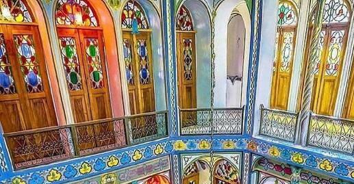 معماری زیبای یک خانه در اصفهان