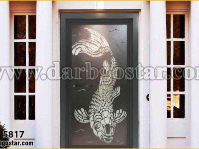 درب ورودی ساختمان لیزری درب کد 5817
