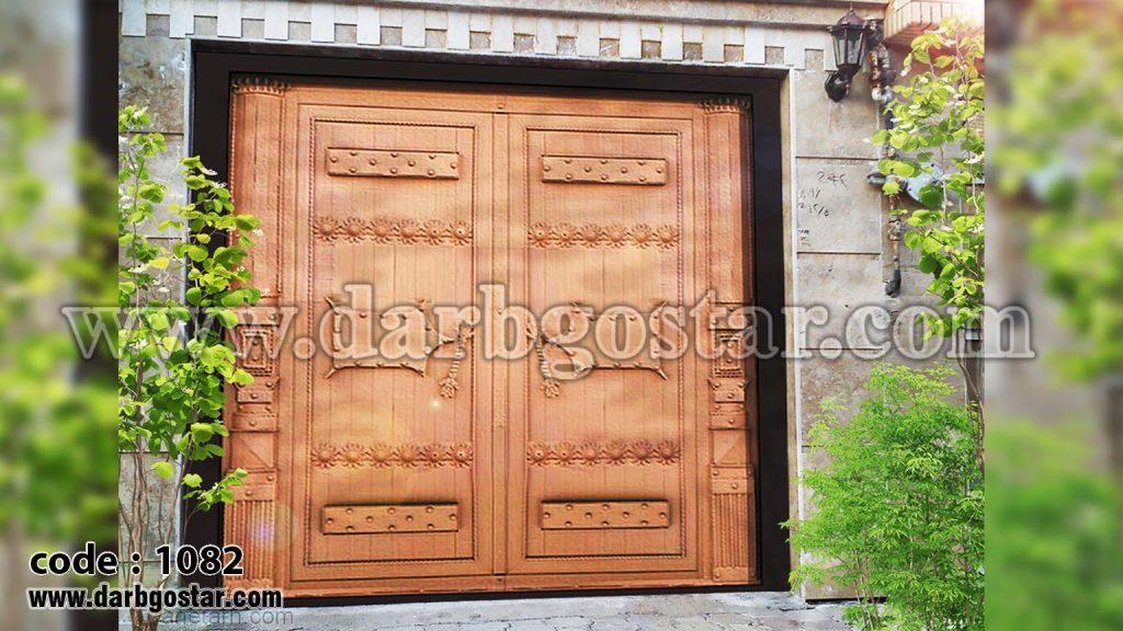 عکس درب ساختمان کد درب 1082