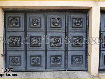 درب های آهنی درب کد 1357