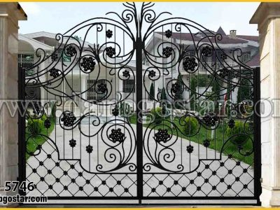 درب ساختمان و درب ویلا درب کد 5746
