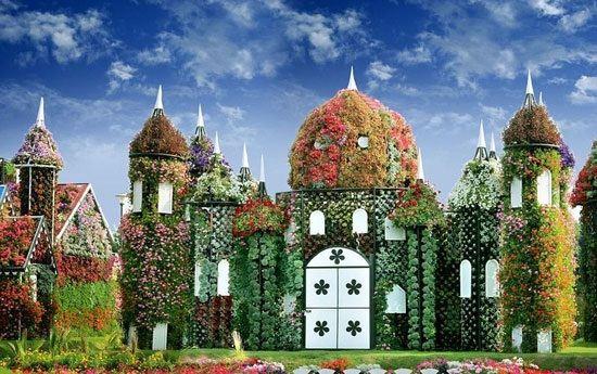 زیباترین باغ گل جهان