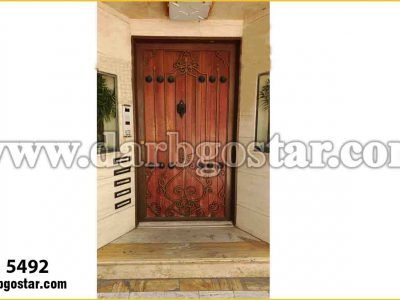 درب ورودی ساختمان کد درب 5492