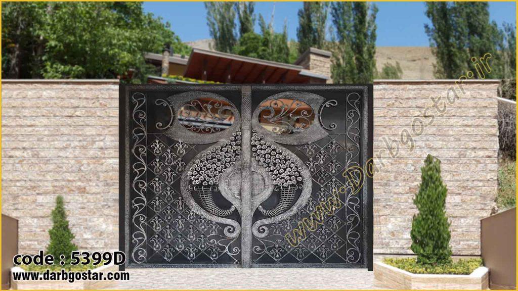 درب سلطنتی درب ویلا - کد درب 5399D