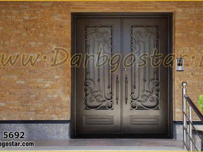 درب ورودی منزل درب شیک کد درب 5692