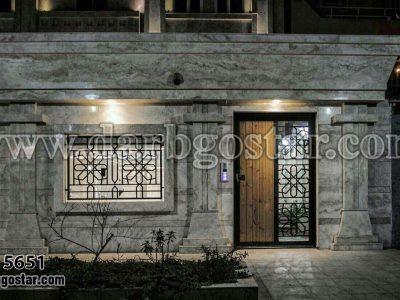 درب ورودی ساختمان کد درب 5651