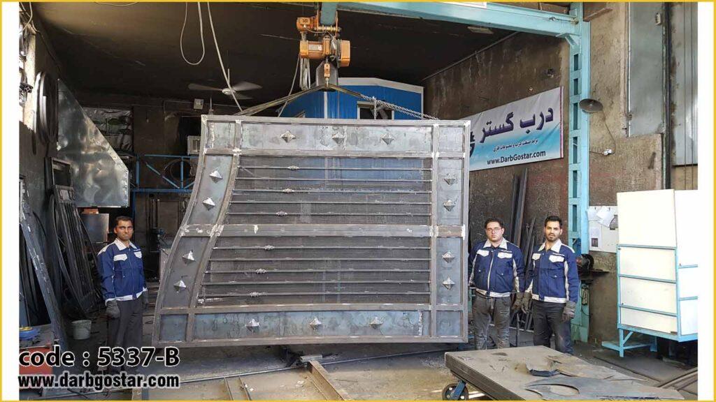 5337B تولید درب های ساختمانی
