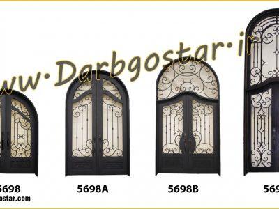 انواع درب ورودی کد 5698