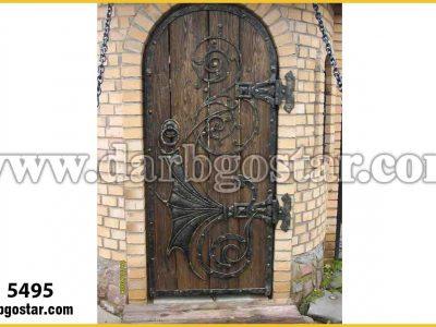 5495 درب ورودی قدیمی و سنتی