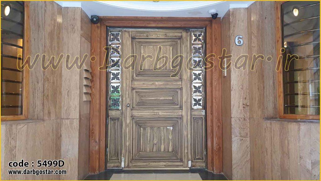 5499D نصب درب ورودی ساختمان